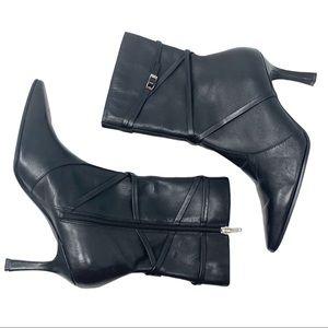 Madeline Stuart Black Stiletto Boots